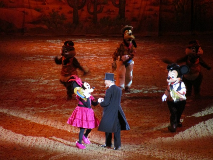 Our summer - Buffalo Bill's Wild West Show at Disneyland Paris