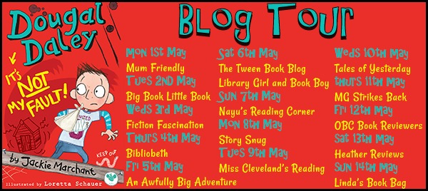 Dougal Daley Blog Tour