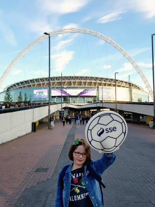 H at Wembley, football,