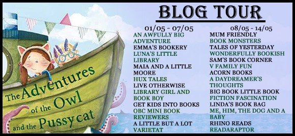 The Adventures of the Owl and the Pussycat blog tour