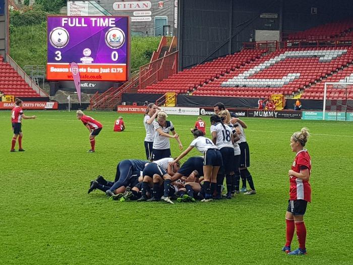 Tottenham Ladies win!