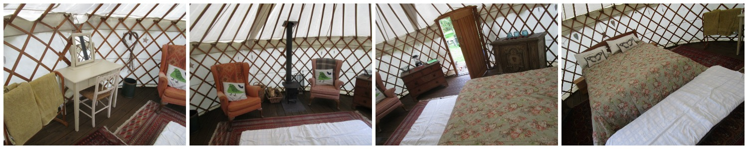 Short Essex Family Break Woodpecker Yurt, Essex