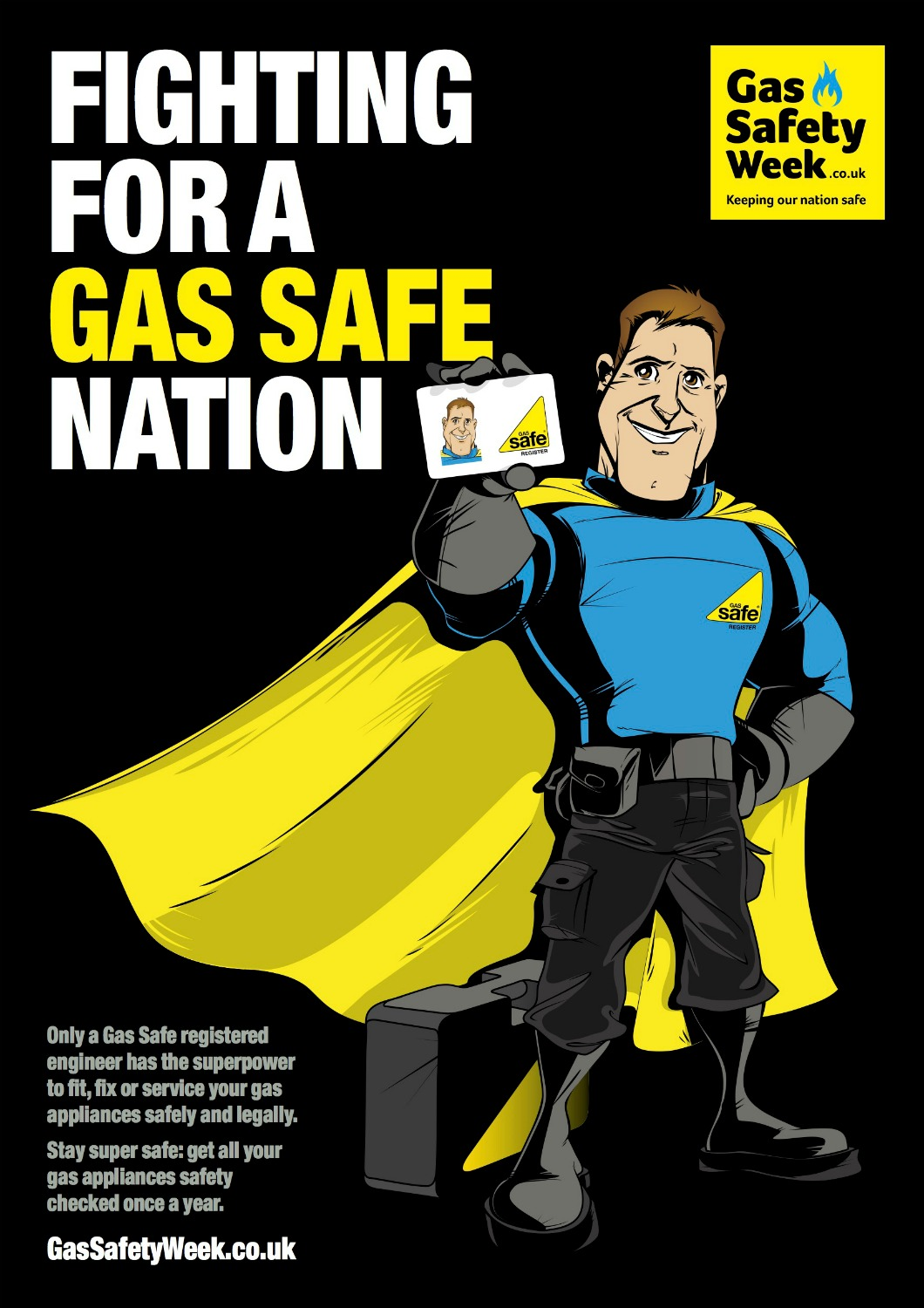 Gas Safety Week 2017 poster