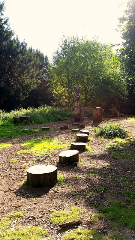 Osterley Park and House natural play 2