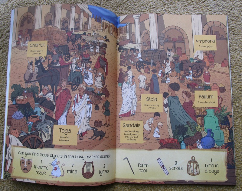 A Roman Adventure book Roman Clothes