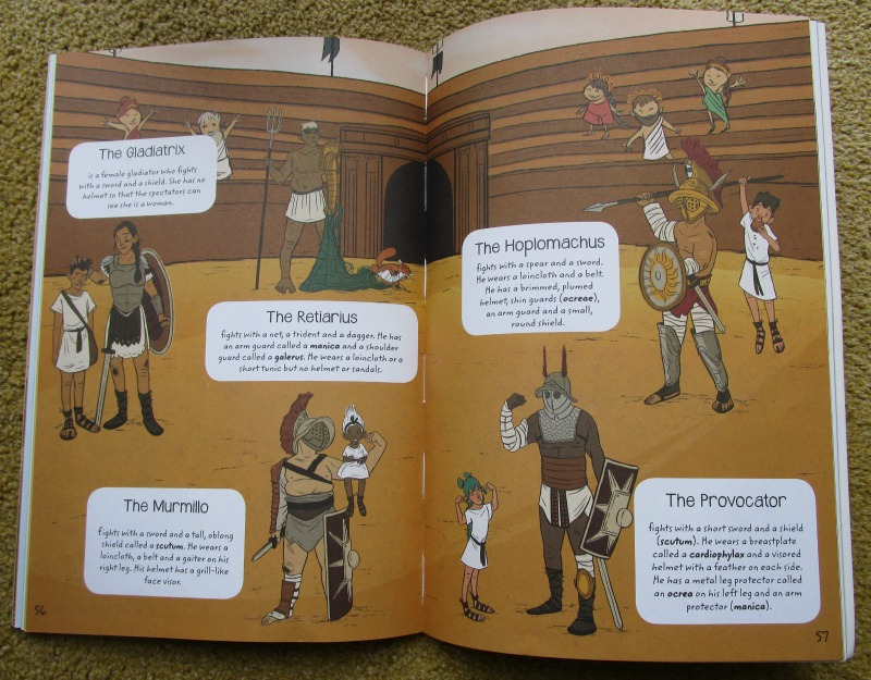 A Roman Adventure book gladiators