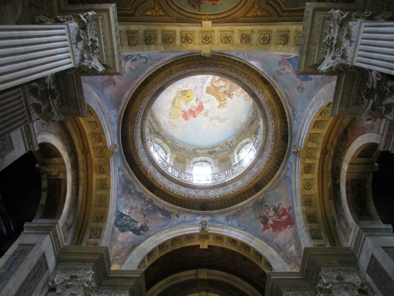 Castle Howard dome from inside