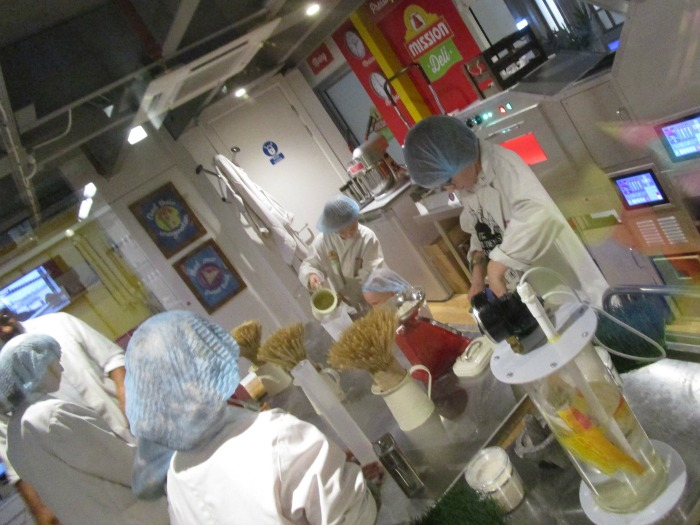 Kidzania Mission Deli factory