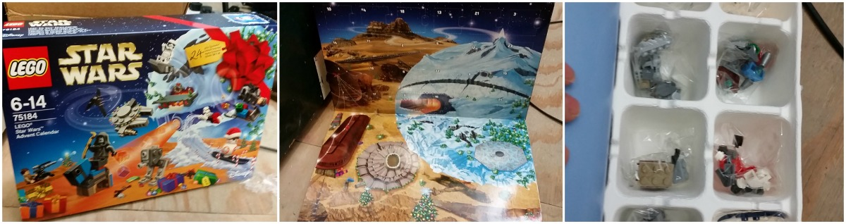 Lego Star Wars Sustainable Advent Calendar 2017 - what it looks like