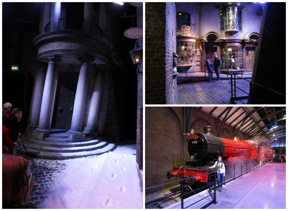 Hogwarts in the Snow, Diagon Alley and the Hogwarts Express