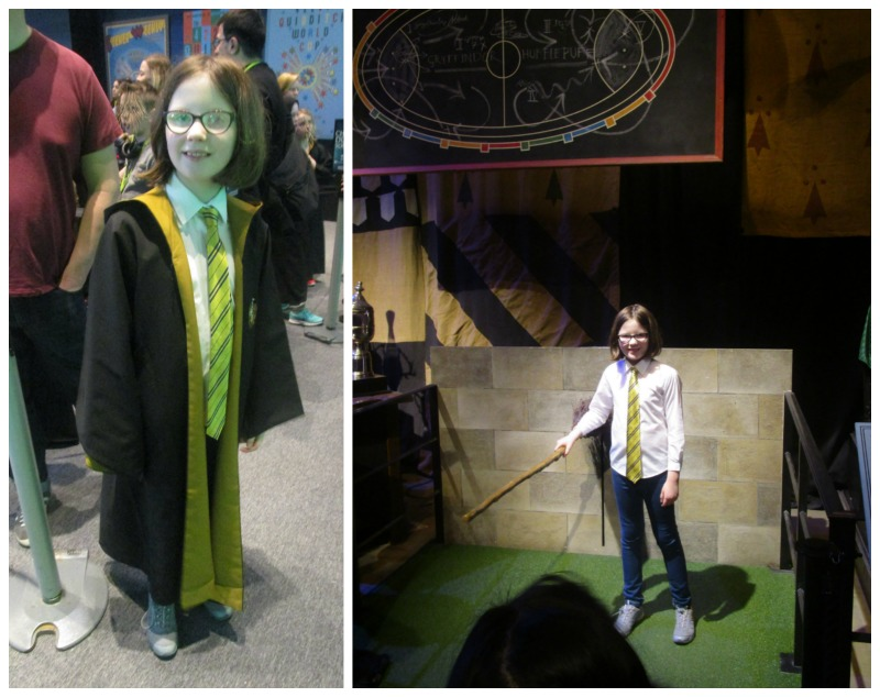 Hufflepuff in action at Warner Brothers Studio Tour
