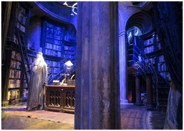 Two Dumbledores at the WB Harry Potter Studio Tour. Will there be three soon?