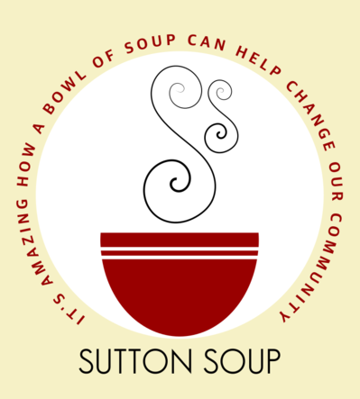 Sutton Soup - It's amazing how a bowl of soup can help change our communities logo