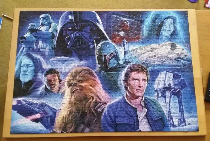 Ravensburger Star Wars Collection Jigsaw finished