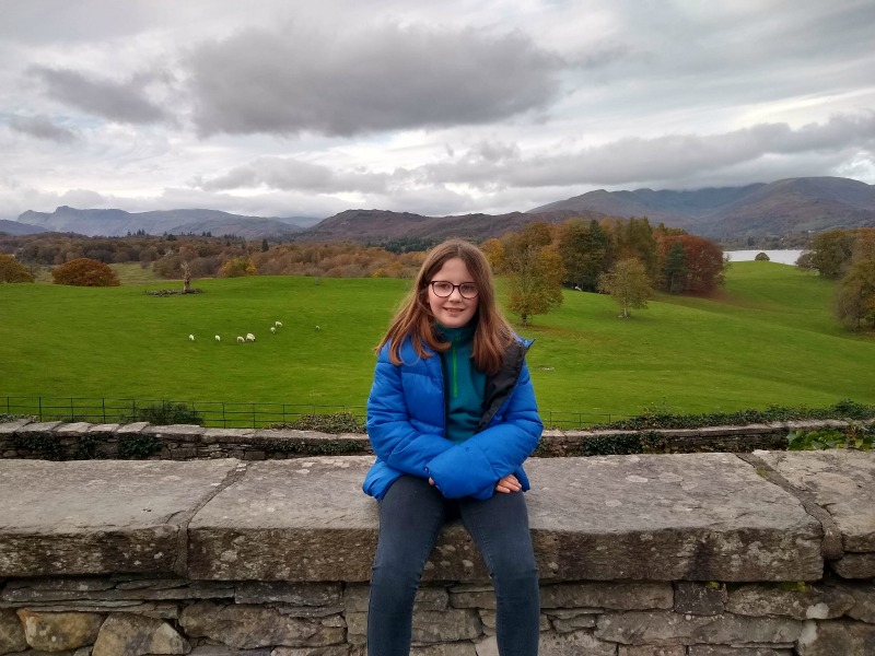 View from Wray Castle looking towards Windermere