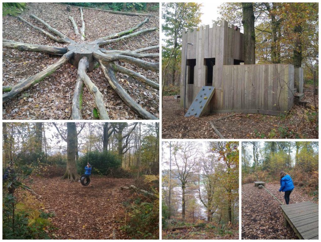 Wray Castle Outdoor Play Area